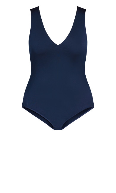 Draw The Line Bodysuit - navy