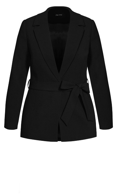 So Elegant Jacket - black