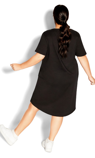 Scoop Everyday Dress - black