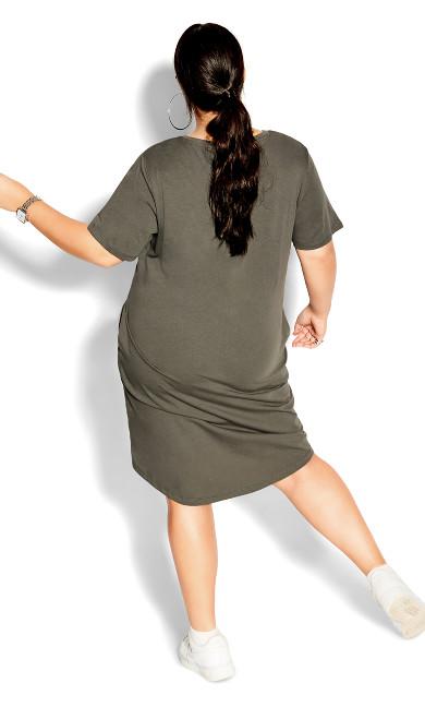 Scoop Everyday Dress - light khaki