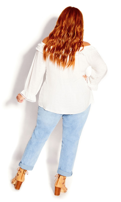 Sweet Explorer Top - ivory