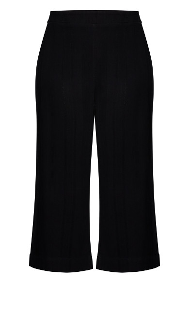 Textured Escape Pant - black