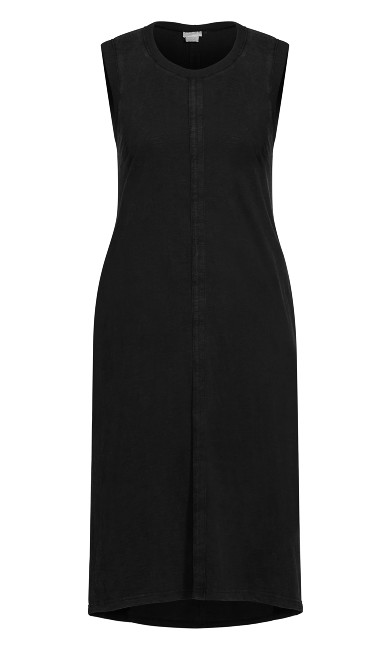 Simple Love Dress - black