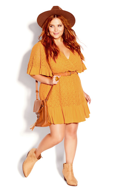 Sweet Escape Dress - honey