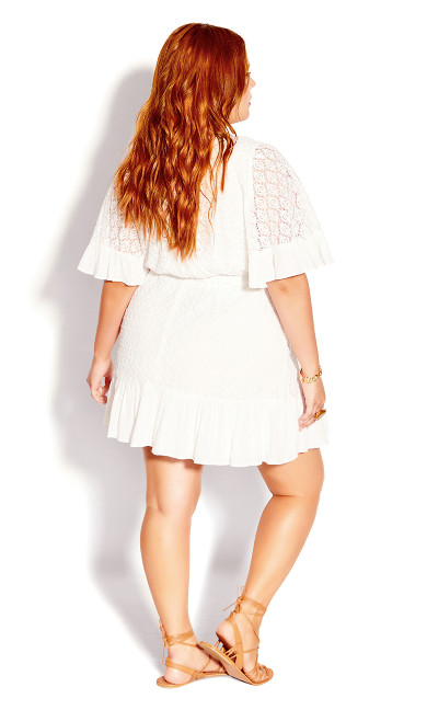 Sweet Escape Dress - ivory