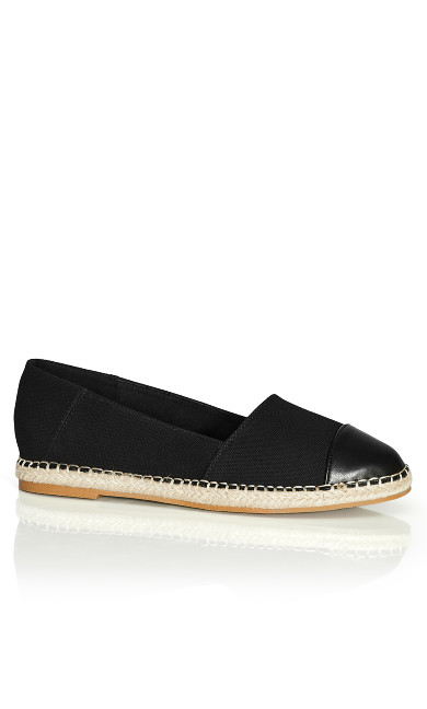 Raelyn Flat - black