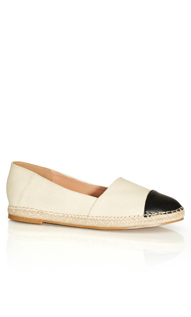 Raelyn Flat - Nude Black
