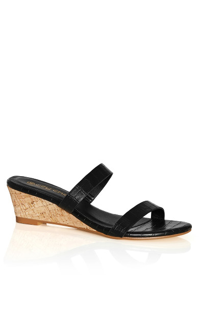 Blake Mini Wedge - black