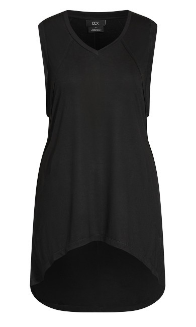 Pump It Hi Lo Tank - black
