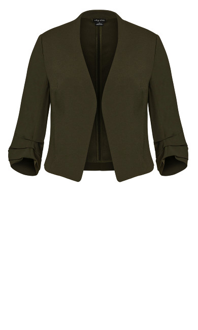 Wistful Dreams Jacket - ivy