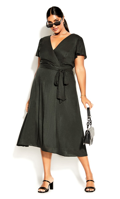 Sashay Dress - khaki