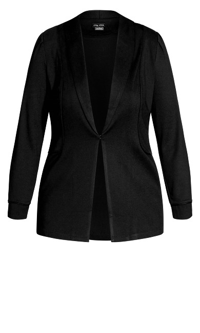 On Point Jacket - black