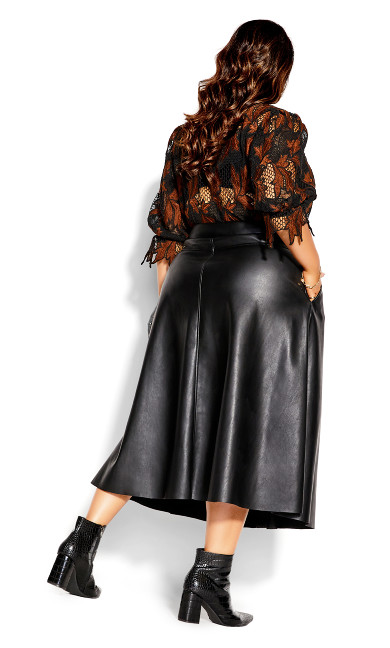 On Point Skirt - black