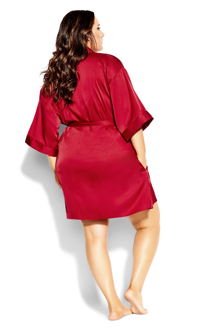 Ally Robe - scarlet