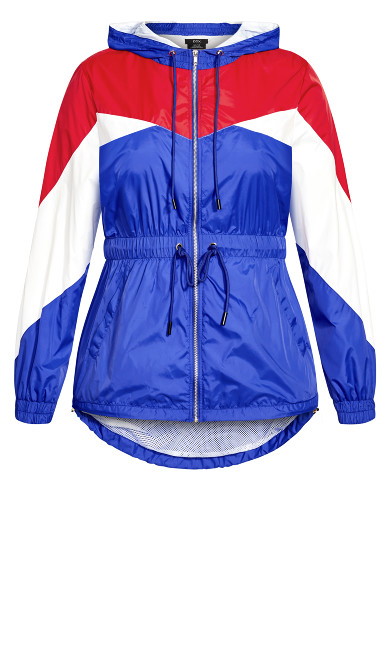 Splice Fire Up Jacket - royal blue