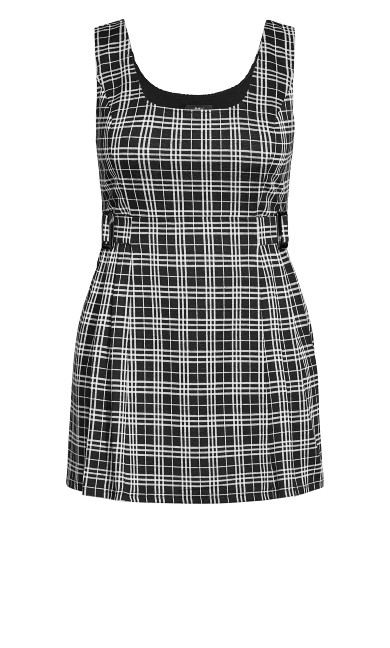 Check In Pini Dress - black