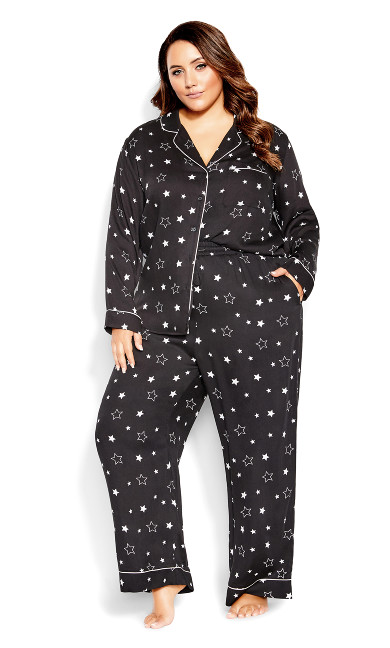 Galaxy Sleep Pant - black