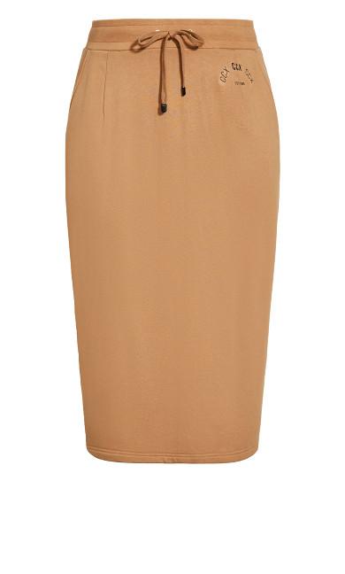 Obsession Skirt - caramel