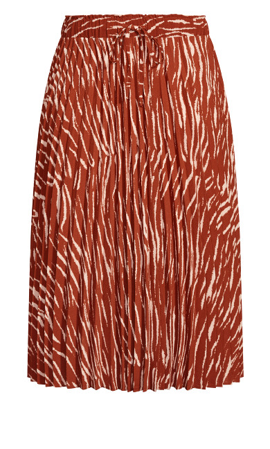 Ginger Tiger Skirt - ginger
