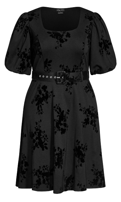 Wild Heart Dress - black