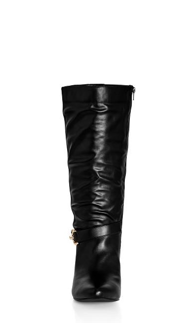 Rialta Knee Boot - black