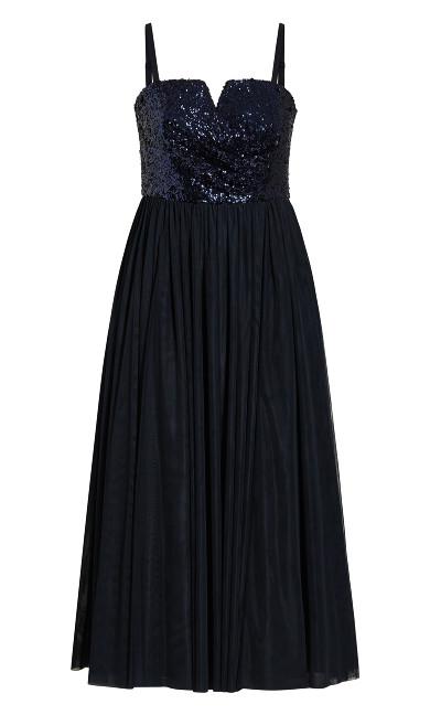 Radiance Maxi Dress - sapphire