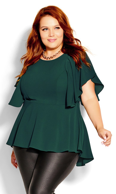 Romantic Mood Top - jade