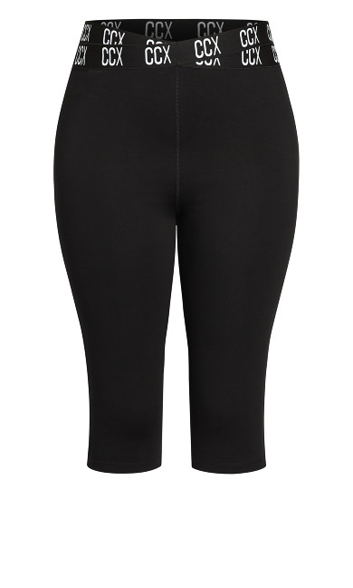 3/4 Active Legging - black