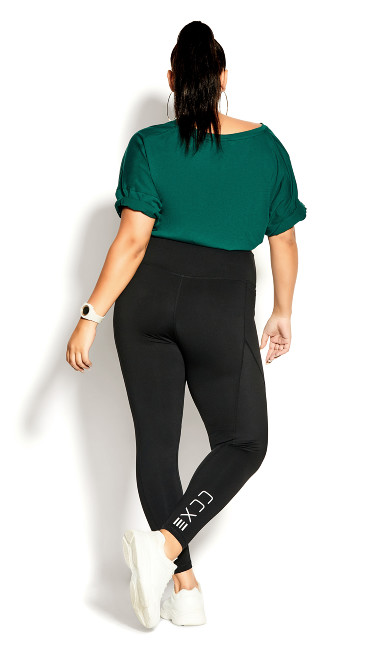Takedown Full Length Legging - black