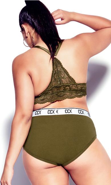 CCX Lace Bralette - military