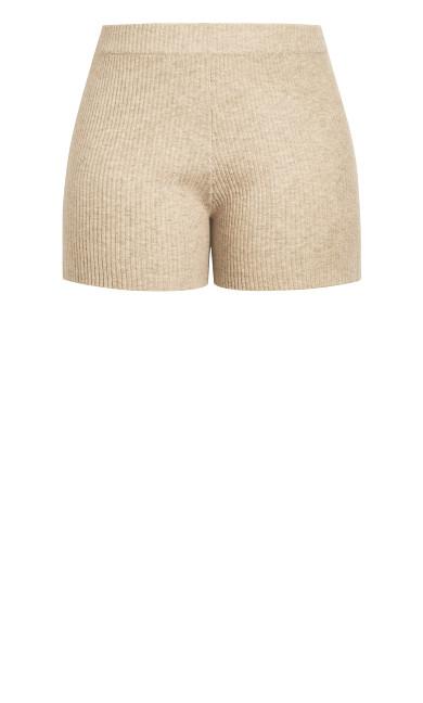 Luxe Knit Short - caramel