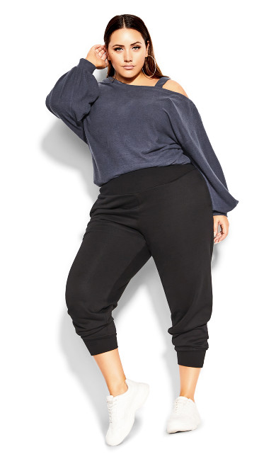 Rookie Lounger Pant - black