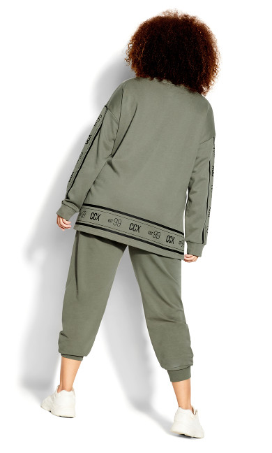 Chillax Sweat Top - sage