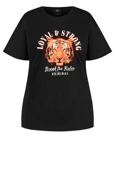 Loyal N Strong Tee - black