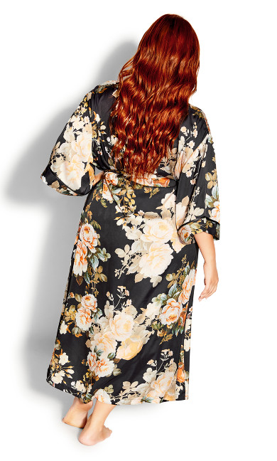 Romantic Robe - black