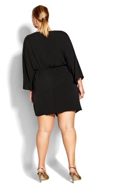 Whirlpool Dress - black