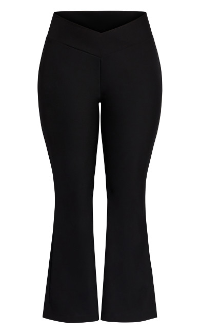 Sexy Flare Pant - black