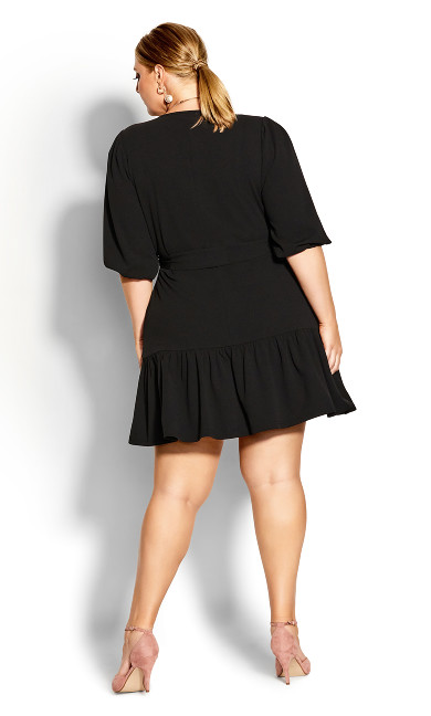 Love Me Knot Dress - black