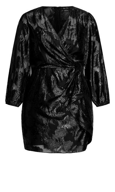 Burnout Dress - black