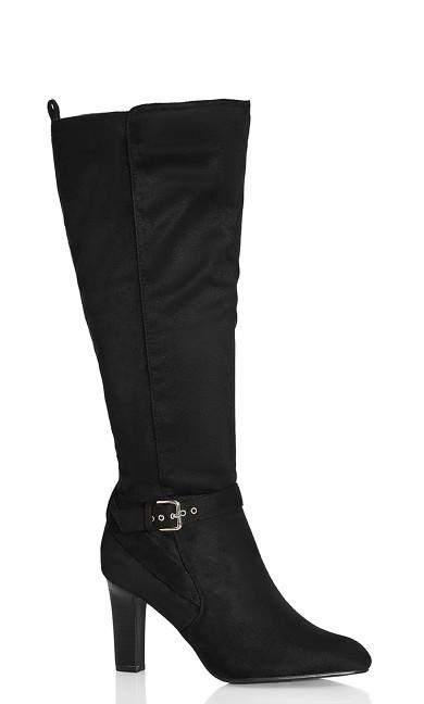 Tara Knee Boot - black