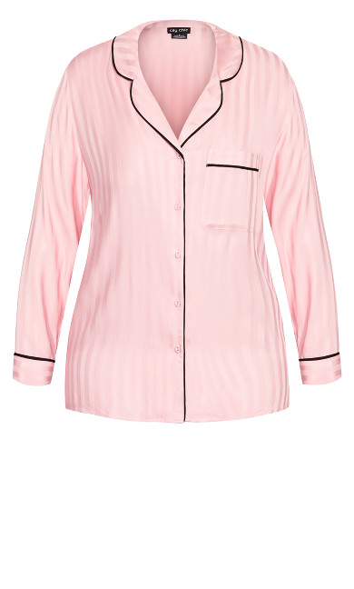 Mia Sleep Shirt - blush