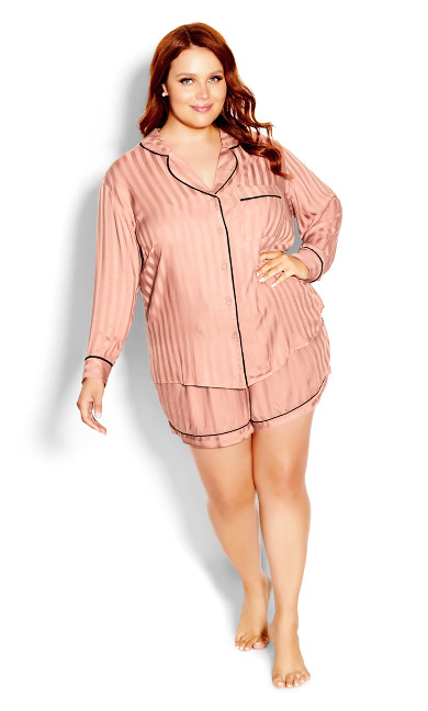 Mia Sleep Shirt - dusty pink