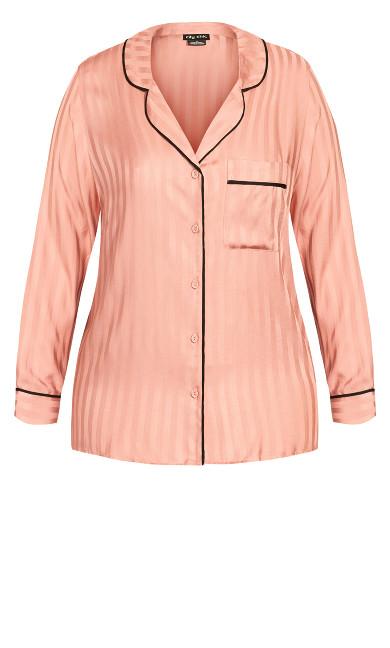 Mia Sleep Shirt - dusty pink