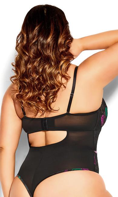 Tilda Underwire Bodysuit - black