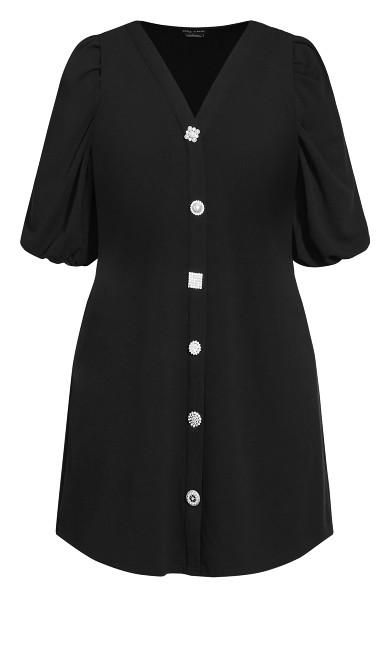 Fleur Lamour Dress - black