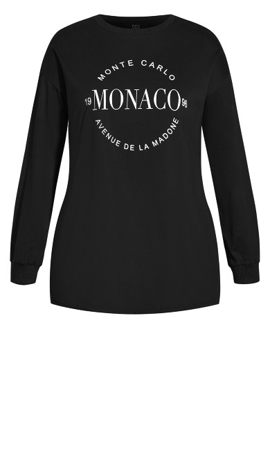Monte Carlo Tee - black