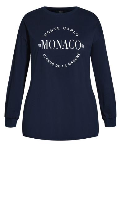 Monte Carlo Tee - navy