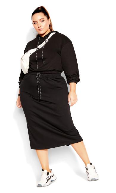Lounger Skirt - black