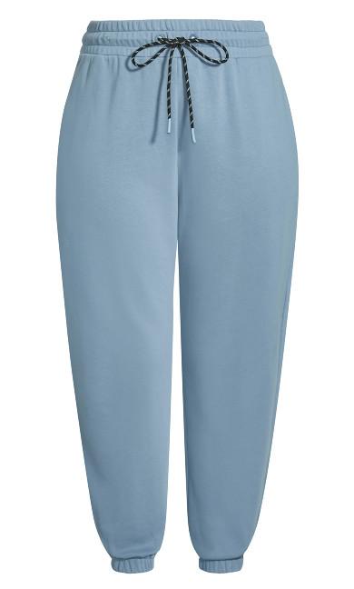 Lounge Love Pant - dusty blue