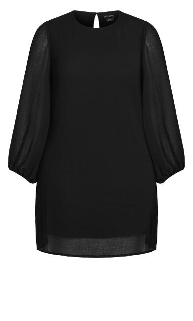 Soft Sunset Dress - black
